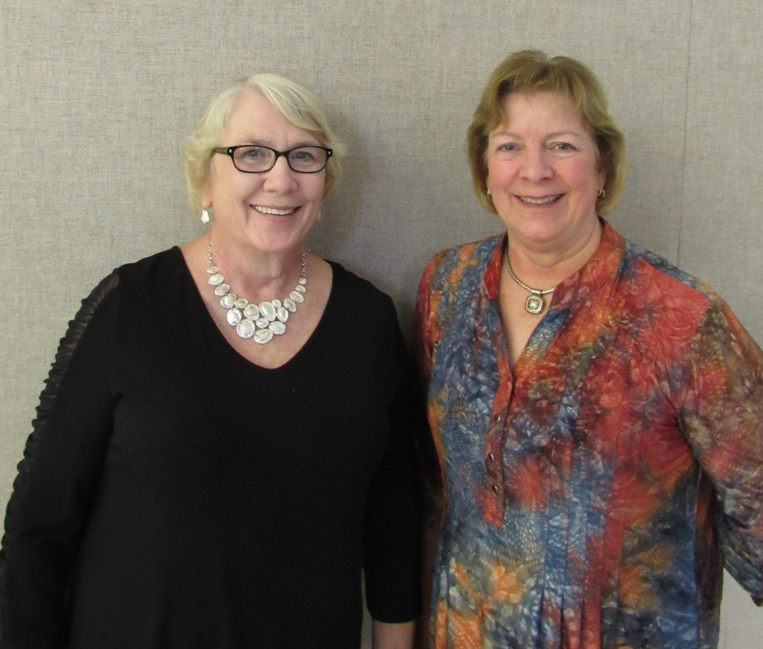 WEB Barbara Kagey and Annette Lane